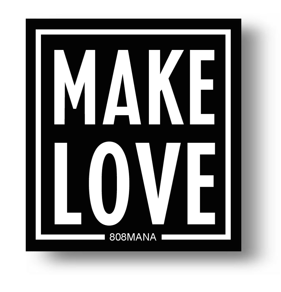156 Make Love Sticker