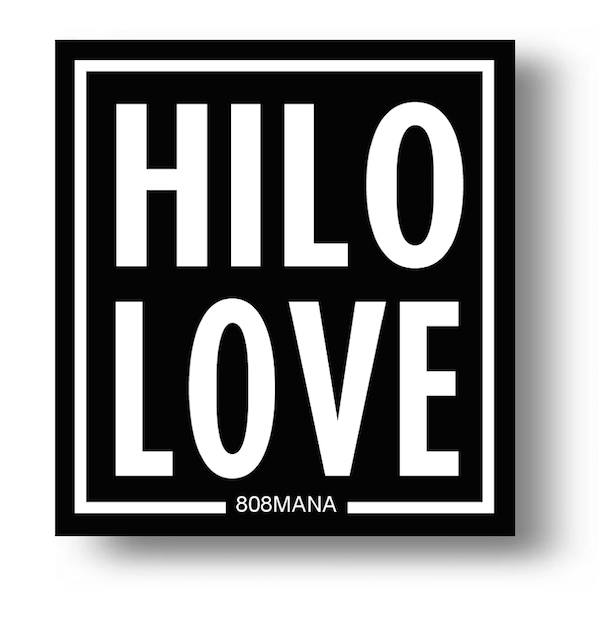 157 Hilo Love Sticker