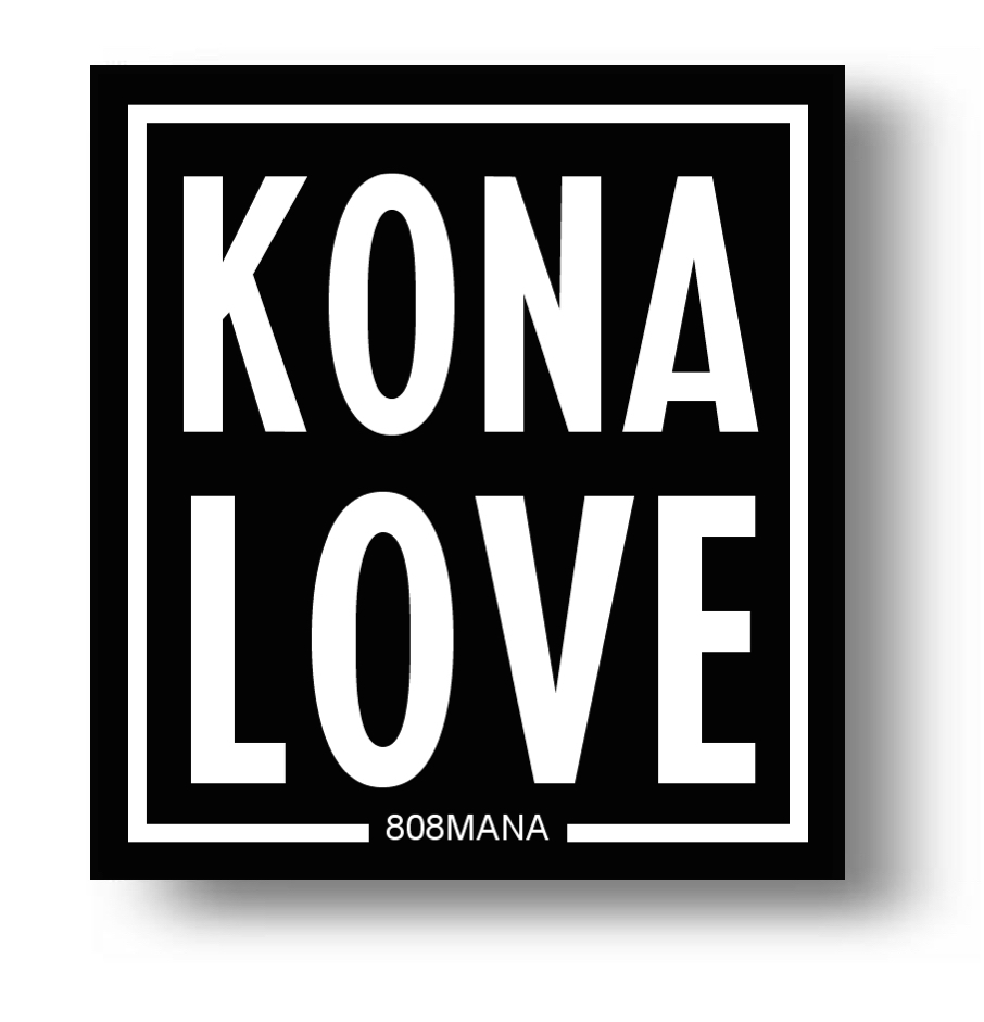 158 Kona Love Sticker