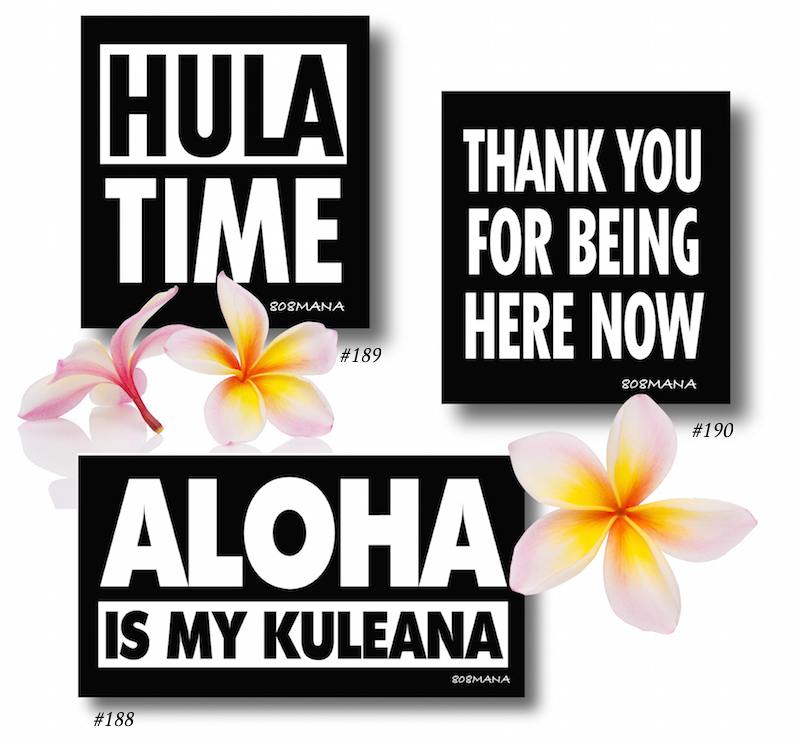188-190 HULA TIME Stickers