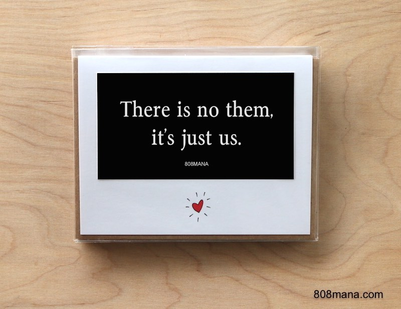 298 Its Just Us Greeting Card and Vinyl Sticker